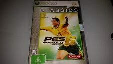 XBOX 360 PES PRO EVOLUTION SOCCER 6 GAME IN VERY GOOD CONDITION