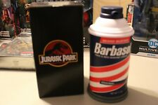 Jurassic Park Dennis Narby 2020 Sdcc Exclusive Figure in Barbasol Can-In hand