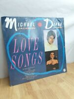 Michael Jackson And Diana Ross Love Songs 12 Inch Vinyl Record Album