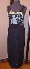 Urban Renewal Metallica And Justice For All T-Shirt Upcycled Maxi Dress Size S/M
