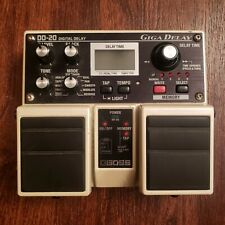 Boss DD-20 Delay Guitar Effect Pedal Tested Working Pedal only