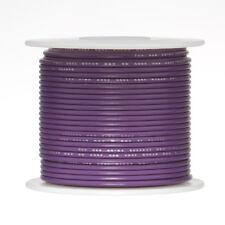 """22 AWG Gauge Stranded Hook Up Wire Violet 250 ft 0.0253"""" UL1007 300 Volts"""
