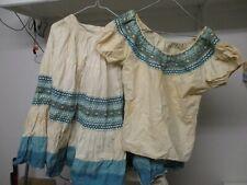 1930-40's era Bob Schmitz Durango Colorado Western Indian or Spanish style dress