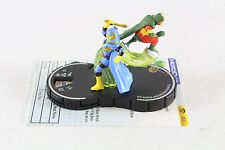 Heroclix DC SLOSH Big Barda and Mister Miracle 043 SR Super Rare