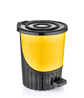 14 Litre Medium YELLOW 33cm Height /Useful Office Dustbin Waste Disposal Bin