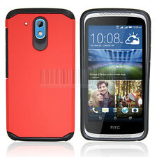Slim Hybrid Shockproof Armor Case Hard Protective Cover For HTC Desire 526G