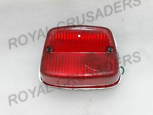 Nuovo Jawa Cz Perak 250 350 California 353 559 Rosso Luce Posteriore @ Andrea