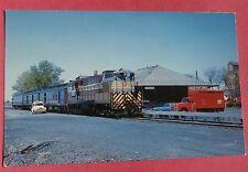 "CPR ""Soo Dominion"" 1960 Train Railway Postcard"