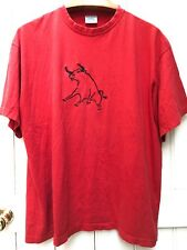 Vintage 90s Red Bull Graphic Oversized T-Shirt Top