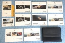 2015 PORSCHE PANAMERA OWNERS MANUAL w PCM NAV BOOKS OEM GTS TURBO S EXEC A+
