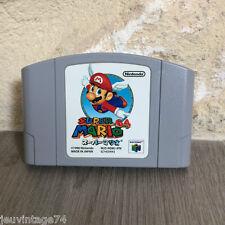 Super Mario 64  Nintendo 64 N64 en loose NUS-NSMJ-JAP NTSC