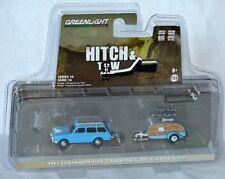 Greenlight Hitch & Tow 1961 VOLKSWAGEN TYPE 3 SQUAREBACK + TEARDROP TRAILER 1:64