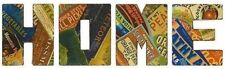 Huge 6' Long HOME Wall Art Seed Packet Sign Wall Letters Kitchen Home Decor