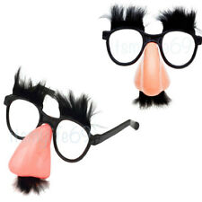 Groucho Glasses Nose Mustache Mask Funny Disguise Prank Face Marx Accessory ShpF