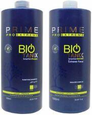 Prime Bio Tanix Kératine Brésilienne Jeu de 1L Shampoing et Après-shampoing