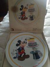 "1928-1978 Schmid Walt Disney ""Happy Birthday Mickey� 50th Collector Plate Ltd Ed"