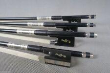 10pcs Great class black Carbon fiber violin bow 4/4,beautiful decoration