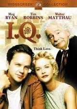 Brand New WS DVD I.Q. Tim Robbins Meg Ryan Walter Matthau Lou Jacobi Gene