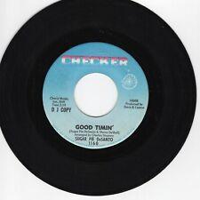 Sugar Pie DeSanto 45 Good Timin' One Sided PROMO CHECKER VG+ soul R&B 710