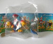 "Bandai Digimon Flamedramon 1.5"" gashapon figure toy Japan import new Veemon"