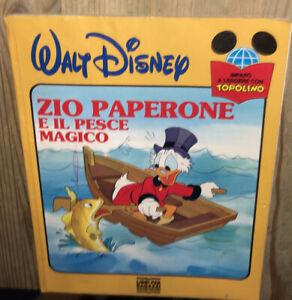 ZIO PAPERONE E IL PESCE MAGICO WALT DISNEY MONDADORI 1988