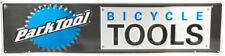 Park Tool Metal Bicycle Tools Sign Black/Blue/Silver