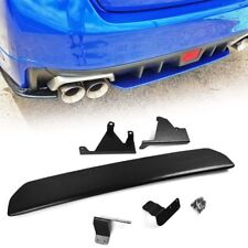UNPAINTED FOR SUBARU WRX STI SEDAN ABS REAR DIFFUSER UNDER LIP SPOILER 15-18