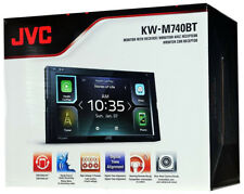 """JVC KW-M740BT 6.8"""" Double DIN Bluetooth MP3/USB/FM/ Android Auto In-Dash Digital"""