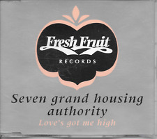 SEVEN GRAND HOUSING AUTHORITY - Love's got me high CDM 6TR House 1995 Holland