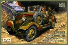 IBG 1/72 POLSKI FIAT 508/iii lazik LATE VERSION # 72008
