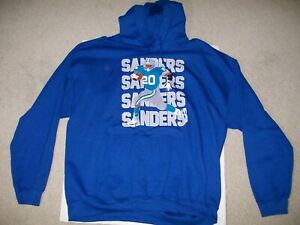 NEW XL NFL Barry Sanders Hoodie Sweatshirt Detroit Lions #20 Zoom Turf Super