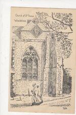 Church Of St Thomas Winchelsea 1955 Art Postcard Rodney 679a