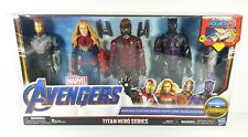Avengers Titan Hero Series Power FX Figure Set of 4 Black Panther Star Lord New