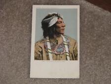Obtossaway, An Ojibwa Indian Chief, unused vintage