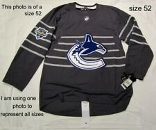 VANCOUVER CANUCKS size 50 = Medium 2020 NHL ALL STAR Adidas Hockey Jersey Storm
