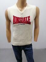 Maglione LONSDALE Uomo Taglia Size M Sweater Man Pull Homme P6489