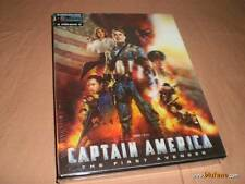 Captain America 3D+2D Blu-ray Steelbook w/ Lenticular Slip | Marvel NEW Blufans