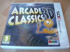 ARCADE CLASSICS 3D ** NEW & SEALED ** Nintendo 3Ds Game