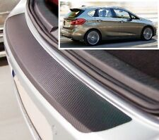 BMW 2 series active tourer  - Carbon Style rear Bumper Protector