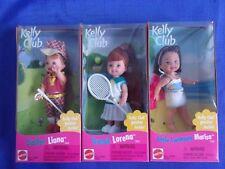 Li'l Friends of Kelly-Golfer Liana-Tennis Lorena- Marisa NRFB 1999 Lot-3 Dolls