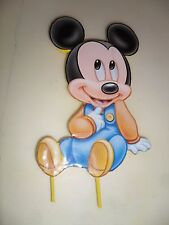Baby Mickey Mouse Cake Topper or Centerpiece