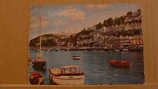 Posted 1960 Postcard the Looe River and West Looe, Cornwall