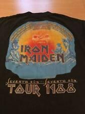 Iron Maiden OG Seventh son 1988 shirt vintage tour vtg concert US Size