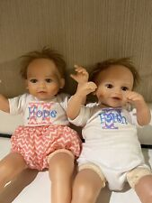 Hope & Faith Twin Baby Dolls by Ashton Drake, Artist Mayra Garza New