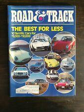 Road & Track Magazine October 1984 Camaro Iroc-Z - Porsche Vanagon Napier Samsom