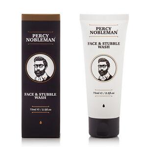 Face & Stubble Wash Percy Nobleman (75ml) - Men's Face Wash