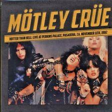 Mötley Crüe – Hotter Than Hell: Live At Perkins Palace 82 [LP] 500 copies press