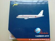 Iberia Retro Airbus A319 Model Gemini 1:400 Diecast