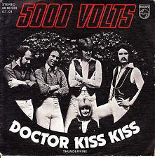 "7"" promo 5000 VOLTS doctor kiss kiss 45 SINGLE SPAIN 1976 thunderfire DISCO FUNK"