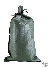 "100 14""x26"" Empty Poly Sandbags For Sale- Poly Bags Sandbag Empty Military"